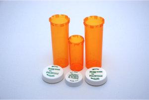bottles for medicines